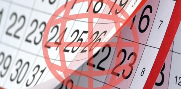 Calendário de eventos Setembro Outubro 2017